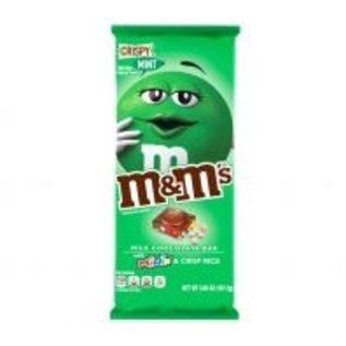 M & M 's M & M's Tablet Crispy Mint 110 gr