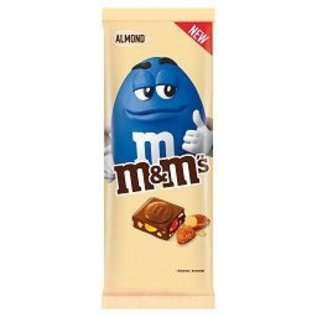 M & M 's M&MS TABLET ALMOND 165G