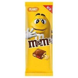 M & M 's M & M's Tablet Crispy peanuts