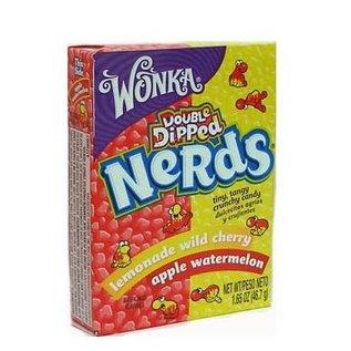 Willy Wonka Candy Wonka Nerds Apple/Watermelon/wild cherry 46,7gr
