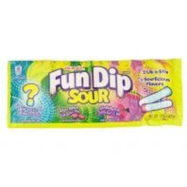 Willy Wonka Candy Wonka Lik-M-Aid Sour Fun Dip 39,6 gr.