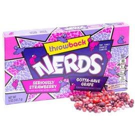 Willy Wonka Candy WONKA NERDS STRAWB/GR BOX141g