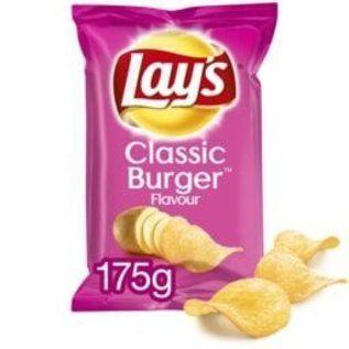 Lays LAYS CHIPS CLASSIC BURGER 175G