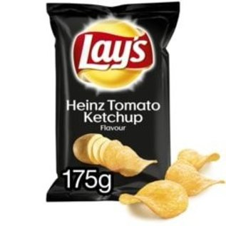 Lays LAYS CHIPS HEINZ KETCHUP 175G