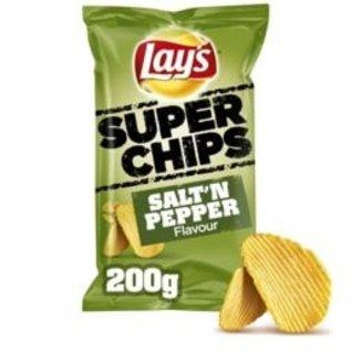 Lays LAYS SUPERCH.SALT&PEPPER 200G