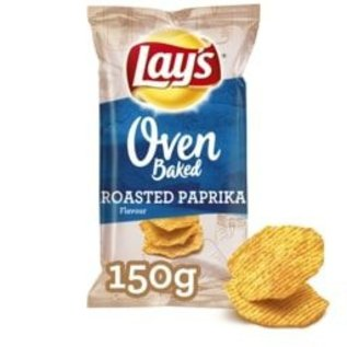 Lays Lays Oven Baked Roasted Paprika 150gr