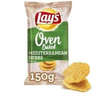 Lays Lays Oven Baked Mediterranean Herbs 150gr