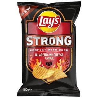 Lays Lays strong jalapeno & cheese 125gr