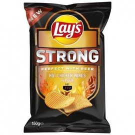 Lays Lays strong Hot Chicken Wings 125gr