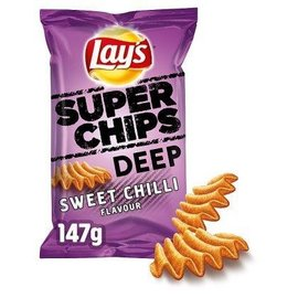 Lays Lays superchips Deep Sweet Chilli 147gr