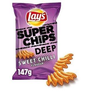 Lays Lays superchips Deep Sweet Chilli 147gr