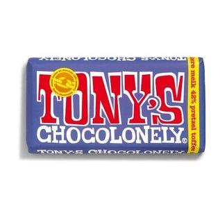 Tony's Chocolonely Tony's Chocolony 42%MELKCHOC PRETZ  180gr