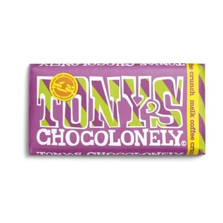 Tony's Chocolonely Tony's Chocolony MELK COFFEE CRUNCH  180gr