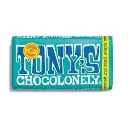 Tony's Chocolonely PUUR PECAN COCOS