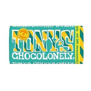 Tony's Chocolonely Tony's Chocolony WIT 28% STRACCIATELLA  180gr