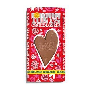 Tony's Chocolonely Tony's Chocolony VALENTIJNREEP MELK   180gr