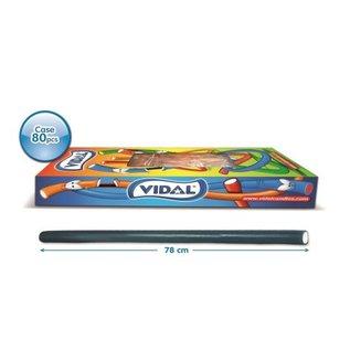 Vidal snoepkabels MAXI BLACK CURRENT 75gr