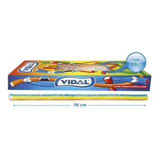 Vidal snoepkabels MAXI SOUR RAINBOW 75gr