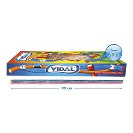Vidal snoepkabels MAXI SOUR RASPBERRY