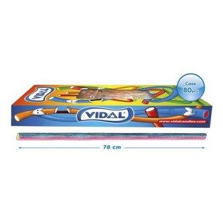 Vidal snoepkabels  MAXI SOUR RASPBERRY 75gr