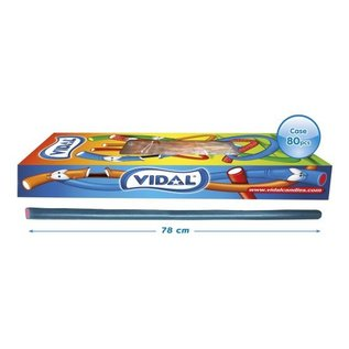 Vidal snoepkabels MAXI TUTTI FRUTTI  75gr