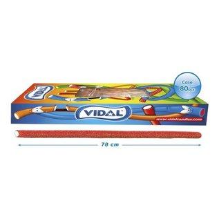 Vidal snoepkabels MAXI SOUR STRAWBERRY 75gr