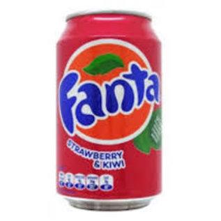 Fanta Fanta Strawberry / kiwi 33cl