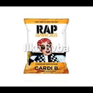Rap Snacks Rap Snacks Cheddar BBQ Cardi B 28 gr
