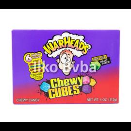 Warheads Warheads Chewy Cubes Box