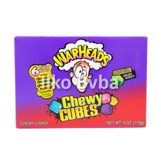 Warheads Warheads Chewy Cubes Box 113 gr