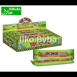 Dr Sour Dr Sour Watermelon Chew Bar 50gr