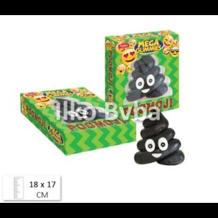 Mega Gummies Mega Gummies 600gr Emoticon Poop