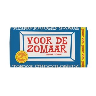 Tony's Chocolonely Tony's Chocolony PUUR 70%  180gr