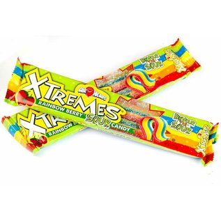Airheads Airheads X-Tremes Rainbow Berry 56 gr