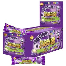 Jawbreaker Jawbreakers Blackcurrant 5-strip