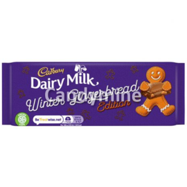 Cadbury Dairy Milk Gingerbread 120 gr