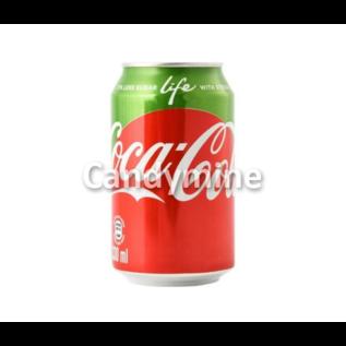 Coca Cola Life blik 0,355 l. (USA import)