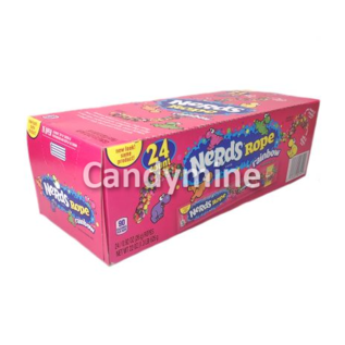 Willy Wonka Candy Nerds Ropes Rainbow 26 gr