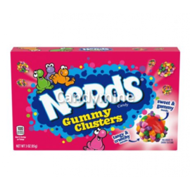 Willy Wonka Candy Nerds box Gummy Clusters