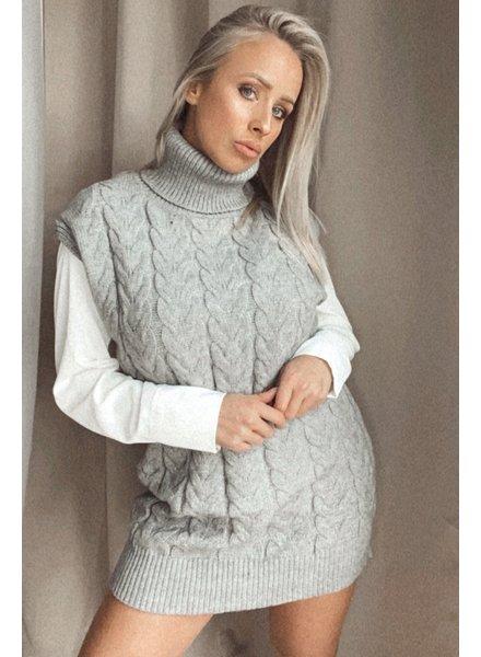 Grey Pulldress