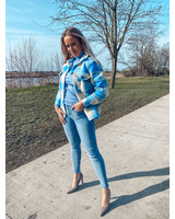 Lichtblauwe Toxik Jeans