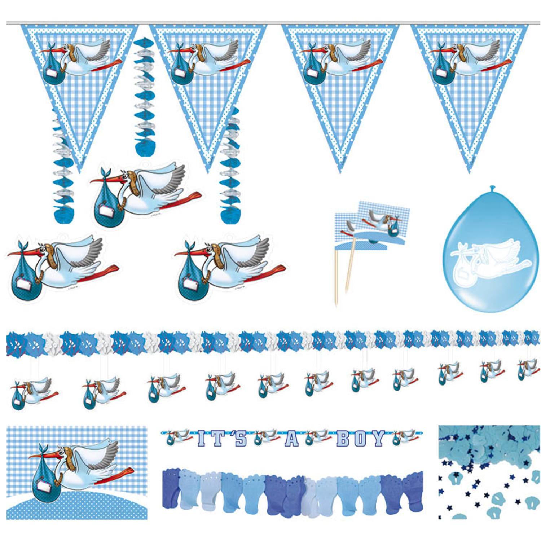 Partyset Geboorte Jongen   Feestpakket