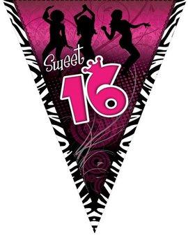 Vlaggenlijn Sweet Sixteen 16