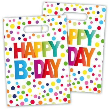 Verjaardag Uitdeelzakjes Happy Birthday