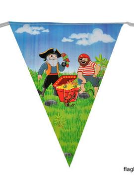 Vlaggenlijn Piraten | 5m Lengte