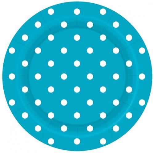 Bordjes  Dots Blauw