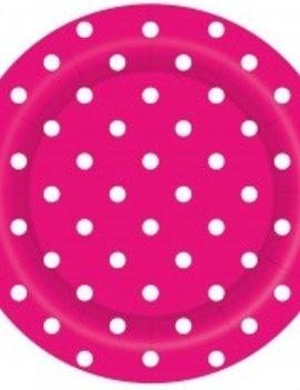 Bordjes  Dots Roze