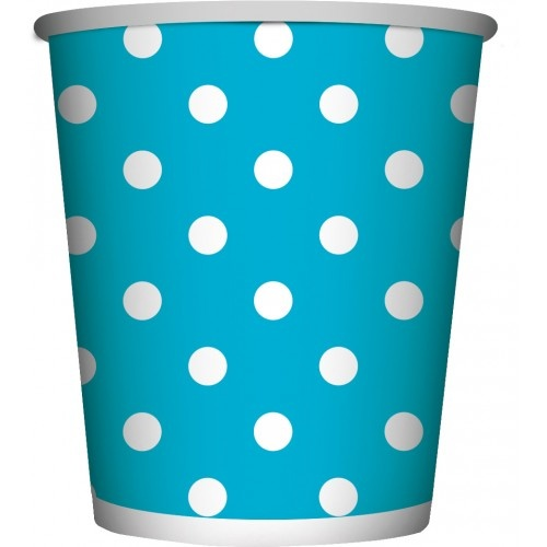 Bekertjes Dots Blauw