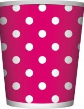 Bekertjes Dots Roze