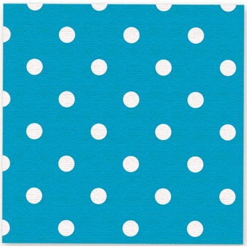 Servetten Dots Blauw